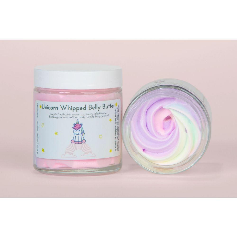 Unicorn Whipped Belly Butter